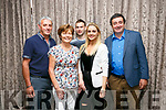 Enjoying The Spirit of Johnny Cash live in concert at the Rose Hotel on Saturday were Gene O'Sullivan, Liz O'Sullivan, Peter McCarthy, Clodagh McCarthy, John Joe O'Sullivan