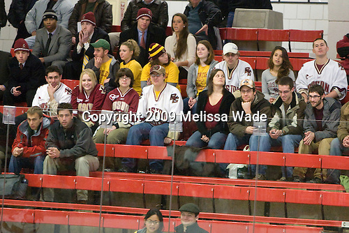 - The Boston College Eagles defeated the Harvard University Crimson 3-2 on Wednesday, December 9, 2009, at Bright Hockey Center in Cambridge, Massachusetts.