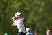 Adrian Otaegui (ESP) on the 5th tee during the 1st round at the PGA Championship 2019, Beth Page Black, New York, USA. 17/05/2019.<br /> Picture Fran Caffrey / Golffile.ie<br /> <br /> All photo usage must carry mandatory copyright credit (&copy; Golffile | Fran Caffrey)
