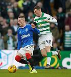 29.12.2019 Celtic v Rangers: Ryan Kent and Callum McGregor