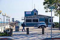 Seal Beach Pier and Police Station