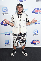 LONDON, UK. June 08, 2019: Jax Jones poses on the media line before performing at the Summertime Ball 2019 at Wembley Arena, London<br /> Picture: Steve Vas/Featureflash