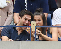FLUSHING NY- SEPTEMBER 09: Justin Bartha seen watching Stan Wawrinka Vs Kei Nishikori during the mens semi finals on Arthur Ashe Stadium at the USTA Billie Jean King National Tennis Center on September 9, 2016 in Flushing Queens. Credit: mpi04/MediaPunch