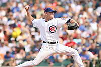 June 18th 2007:  Michael Wuertz of the Chicago Cubs during a game at Wrigley Field in Chicago, IL.  Photo by:  Mike Janes/Four Seam Images