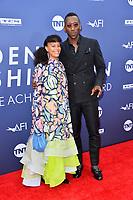 LOS ANGELES, USA. June 07, 2019: Mahershala Ali & Amatus Sami-Karim at the AFI Life Achievement Award Gala.<br /> Picture: Paul Smith/Featureflash