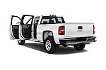 Car images of 2016 GMC Sierra 1500 2WD Double Cab Standard Box SLE 4 Door Pick-up Doors