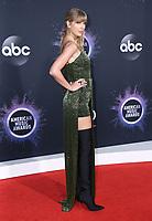 24 November 2019 - Los Angeles, California - Taylor Swift. 2019 American Music Awards - Arrivals held at Microsoft Theater. Photo Credit: Birdie Thompson/AdMedia
