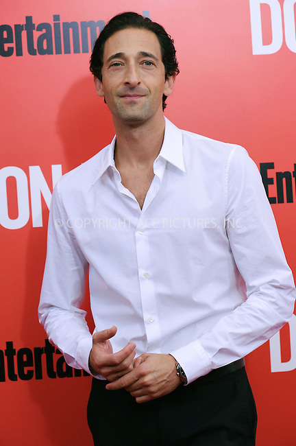 WWW.ACEPIXS.COM<br /> September 12, 2013...New York City<br /> <br /> Adrien Brody attending 'Don Jon' New York Premiere at SVA Theater on September 12, 2013 in New York City.<br /> <br /> Please byline: Kristin Callahan/Ace Pictures<br /> <br /> Ace Pictures, Inc: ..tel: (212) 243 8787 or (646) 769 0430..e-mail: info@acepixs.com..web: http://www.acepixs.com