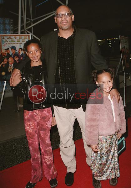 Doug McHenry (director) with daughters Myra & Lyric