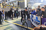 Tyler Farrar (USA) Team Dimension Data heads to the start line for the 101st edition of the Tour of Flanders 2017 running 261km from Antwerp to Oudenaarde, Flanders, Belgium. 26th March 2017.<br /> Picture: Eoin Clarke | Cyclefile<br /> <br /> <br /> All photos usage must carry mandatory copyright credit (&copy; Cyclefile | Eoin Clarke)