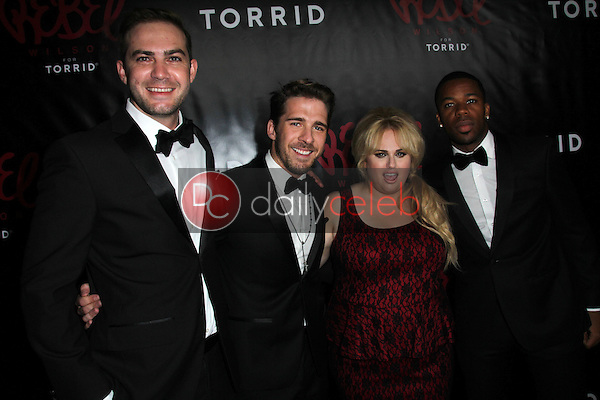 Emile Welman, Hugh Sheridan, Rebel Wilson, Gabe Roland<br />