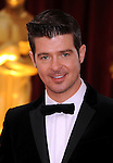 HOLLYWOOD, CA. - March 07: Robin Thicke arrive at the 82nd Annual Academy Awards held at the Kodak Theatre on March 7, 2010 in Hollywood, California.