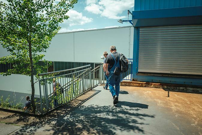 Arbeitsmigration Tschechien/Deutschland, Pendler aus Strakonice nach Aicha vorm Wald