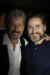 """Charles Shaughnessy """"King Francis""""  & Sean Martin Hingston - Paper Mill Playhouse presents the world premiere of the the new musical Ever After on May 31, 2015 with curtain call followed by gala at Charlie Bowns in Millburn, New Jersey (Photos by Sue Coflin/Max Photos)"""