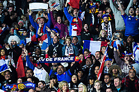 France fans celebrate a successful penalty kick during the Steinlager Series international rugby match between the New Zealand All Blacks and France at Eden Park in Auckland, New Zealand on Saturday, 9 June 2018. Photo: Dave Lintott / lintottphoto.co.nz