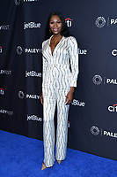 "HOLLYWOOD, CA - MARCH 23: Dominique Jackson attends PaleyFest 2019 for FX's ""Pose"" at the Dolby Theatre on March 23, 2019 in Hollywood, California. (Photo by Vince Bucci/FX/PictureGroup)"