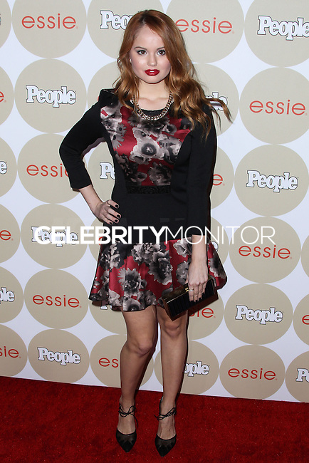 """LOS ANGELES, CA - OCTOBER 09: Actress Debby Ryan arrives at People's """"ONES To Watch"""" Party held at Hinoki & The Bird on October 9, 2013 in Los Angeles, California. (Photo by Xavier Collin/Celebrity Monitor)"""