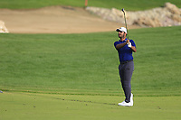Shubhankar Sharma (IND) on the 1st fairway during the 2nd round of  the Saudi International powered by Softbank Investment Advisers, Royal Greens G&CC, King Abdullah Economic City,  Saudi Arabia. 31/01/2020<br /> Picture: Golffile | Fran Caffrey<br /> <br /> <br /> All photo usage must carry mandatory copyright credit (© Golffile | Fran Caffrey)