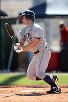February 20, 2009:  Third baseman Kevin Vance (42) of the University of Connecticut during the Big East-Big Ten Challenge at Jack Russell Stadium in Clearwater, FL.  Photo by:  Mike Janes/Four Seam Images