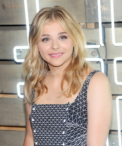 New York, NY- June 17:  Chloe Grace Moretz attends the 2014 Summer Party presented by Coach at friends of the Highline at the  Highline on June 17, 2014 in New York City .Credit: John Palmer/MediaPunch