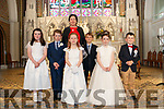 Cahir School First Communion at Kenmare Church on Saturday.