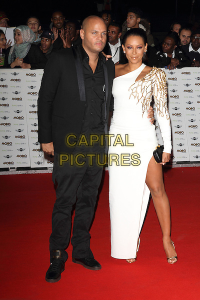 LONDON, ENGLAND - OCTOBER 22: Stephen Belafonte and Mel B attend the MOBO Awards at SSE Arena on October 22, 2014 in London, England. <br /> CAP/ROS<br /> &copy;Steve Ross/Capital Pictures