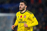 9th November 2019; King Power Stadium, Leicester, Midlands, England; English Premier League Football, Leicester City versus Arsenal; Sead Kolasinac of Arsenal - Strictly Editorial Use Only. No use with unauthorized audio, video, data, fixture lists, club/league logos or 'live' services. Online in-match use limited to 120 images, no video emulation. No use in betting, games or single club/league/player publications