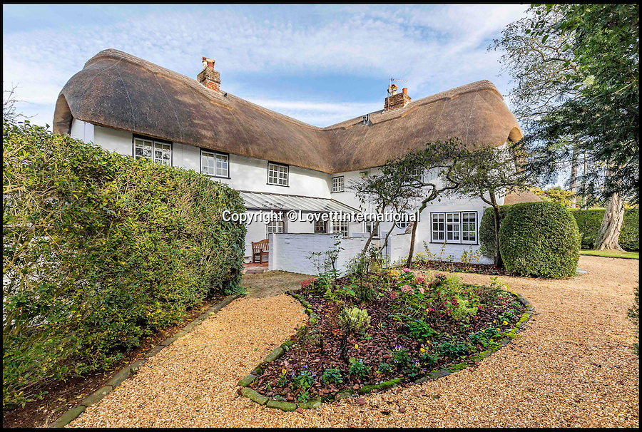BNPS.co.uk (01202 558833)<br /> Pic: LovettInternational/BNPS<br /> <br /> A home fit for Goldilocks, this country cottage is just right...<br /> <br /> The picturesque thatched property where author Robert Southey first penned the famous story of three bears and their unwanted house guest is now on the market for £1.15million.<br /> <br /> From the outside Burton Cottage, in the village of Burton, just outside Christchurch in Dorset, looks much like it would have at the start of the 19th century when Southey lived there.<br /> <br /> But inside it is a contemporary dream that even fussy Goldilocks would struggle to find fault with.