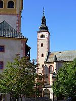 Marienkirche Kostol Nanebovzatia Panny Marie in Banska Bystrica, Banskobystricky kraj, Slowakei, Europa<br /> St. Mary church in Banska Bystrica, Banskobystricky kraj, Slovakia, Europe