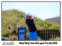 Chris Paisley (ENG) team tee off the 10th tee during Wednesday's Pro-Am of the 2018 Dubai Duty Free Irish Open, held at Ballyliffin Golf Club, Ireland. 4th July 2018.<br /> Picture: Eoin Clarke | Golffile<br /> <br /> <br /> All photos usage must carry mandatory copyright credit (&copy; Golffile | Eoin Clarke)