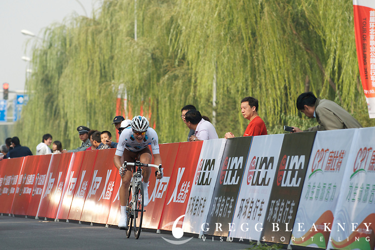 "Nicolas Roche, ALM - #14 -49"" -- 2011 Tour of Beijing"