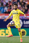 Bojan Jokic of Villarreal CF during the La Liga match between Atletico de Madrid vs Villarreal CF at the Estadio Vicente Calderon on 25 April 2017 in Madrid, Spain. Photo by Diego Gonzalez Souto / Power Sport Images