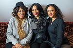 © Joel Goodman - 07973 332324. 05/08/2017 . Macclesfield , UK . SISTER SLEDGE at the Rewind Festival , celebrating 1980s music and culture , at Capesthorne Hall in Siddington . Photo credit : Joel Goodman