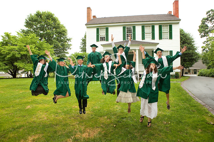 The 2013 Woodlawn School Commencement in Davidson, NC.<br /> <br /> Photo by: PatrickschneiderPhoto.com