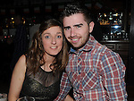 Andy Mulvaney and Denice Gorman pictured at the Console fundraiser in McHugh's. Photo: Colin Bell/pressphotos.ie