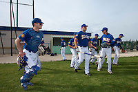 22 May 2009: Team Senart is seen prior to a game against Montpellier during the 2009 challenge de France, a tournament with the best French baseball teams - all eight elite league clubs - to determine a spot in the European Cup next year, at Montpellier, France. Senart wins 7-1 over Montpellier.