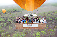 20151231 31 December Hot Air Balloon Cairns