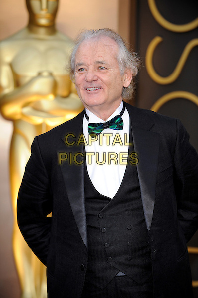 HOLLYWOOD, CA - MARCH 2: Bill Murray arriving to the 2014 Oscars at the Hollywood and Highland Center in Hollywood, California. March 2, 2014. <br /> CAP/MPI/COR99<br /> &copy;COR99/MediaPunch/Capital Pictures