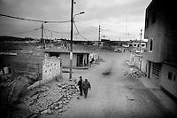 Earthquake aftermath, Peru.....