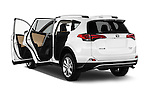 Car images of 2016 Toyota RAV4 Limited 4x4 Door Suv Doors