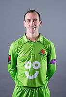 Picture By Allan McKenzie/SWpix.com - 11/04/18 - Cricket - Lancashire County Cricket Club Photo Call Media Day 2018 - Emirates Old Trafford, Manchester, England - Josh Bohannon.