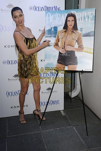 MIAMI, FL - MARCH 22: Adriana Lima host Ocean Drive Magazine's cover event at Komodo Restaurant on March 22, 2017 in Miami Florida. <br /> CAP/MPI04<br /> &copy;MPI04/Capital Pictures