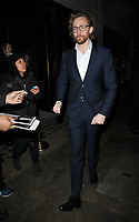 Tom Hiddleston at the BAFTA Breakthrough Brits showcase &amp; reception, 194 Piccadilly, St. James's, London, England, UK, on Wednesday 07 November 2018.<br /> CAP/CAN<br /> &copy;CAN/Capital Pictures