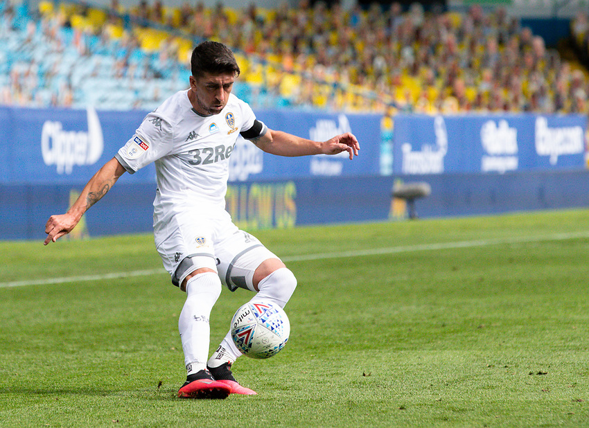 Leeds United's Pablo Hernandez in action<br /> <br /> Photographer Alex Dodd/CameraSport<br /> <br /> The EFL Sky Bet Championship - Leeds United v Fulham - Wednesday 24th June 2020 - Elland Road - Leeds<br /> <br /> World Copyright © 2020 CameraSport. All rights reserved. 43 Linden Ave. Countesthorpe. Leicester. England. LE8 5PG - Tel: +44 (0) 116 277 4147 - admin@camerasport.com - www.camerasport.com<br /> <br /> Photographer Alex Dodd/CameraSport<br /> <br /> The Premier League - Newcastle United v Aston Villa - Wednesday 24th June 2020 - St James' Park - Newcastle <br /> <br /> World Copyright © 2020 CameraSport. All rights reserved. 43 Linden Ave. Countesthorpe. Leicester. England. LE8 5PG - Tel: +44 (0) 116 277 4147 - admin@camerasport.com - www.camerasport.com