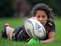 150904 NZSS Girls Rugby Semifinal - Hamilton Girls HS v Southern Cross Campus College
