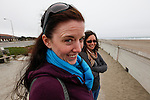 Allison at the beach near Golden Gate Park in San Francisco, California. (Photo by Brian Garfinkel)