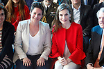 20170330. Queen Letizia attends 'Fundacion princesa De Girona 2017' Awards.