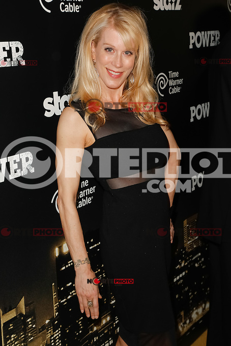 New York, NY -  June 2 : Moira Walley-Beckett attends the Power Premiere held at the Highline Ballroom on June 2, 2014 in New York City. Photo by Brent N. Clarke / Starlitepics
