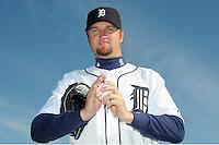 Feb 21, 2009; Lakeland, FL, USA; The Detroit Tigers pitcher Brandon Lyon (37) during photoday at Tigertown. Mandatory Credit: Tomasso De Rosa/ Four Seam Images