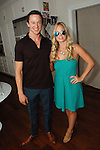 John Wolf, Danielle Dolen==<br /> LAXART 5th Annual Garden Party Presented by Tory Burch==<br /> Private Residence, Beverly Hills, CA==<br /> August 3, 2014==<br /> &copy;LAXART==<br /> Photo: DAVID CROTTY/Laxart.com==